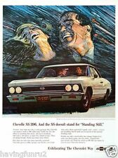 1966 Chevelle SS 396 Showroom Ad 8 x 10 Giclee print
