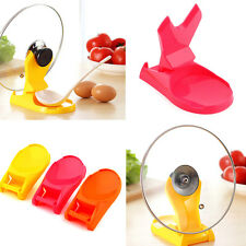 Convenient Pan Pot Cover Spoon Lid Rack Rest Stand Holder Kitchen Tools Utensil
