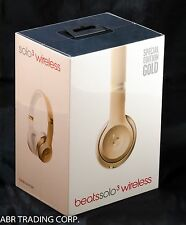 Beats Solo3 Solo 3 Wireless On-Ear Headphones Gold- MNER2LL/A