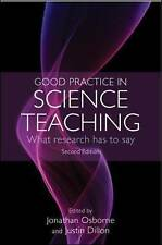 Good Practice in Science Teaching: What research has to say, Good Condition Book