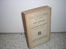 1926.livres second rayon.Irréguliers & libertins.Emile Henriot.envoi autographe.