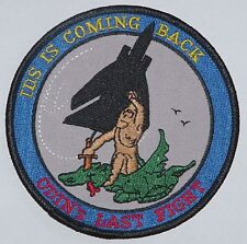 Aufnäher Patch MFG 2 IDS is Coming Back ODIN´s LAST FLIGHT ........A4101