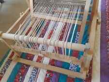 Vintage Wooden Swedish Loom With Original Instructions 8""