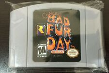 Nintendo N64 Conker's Bad Fur Day TESTED Reproduction BEST PRICE Ships Worldwide