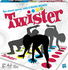 Twister The Classic Game New Design Now With 2 More Moves New Boxed