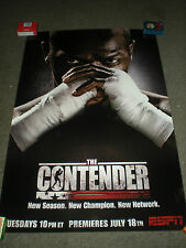 THE CONTENDER - ORIGINAL TV PROMO POSTER - BOXING
