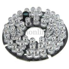 48 LED 6cm IR Infrared Illuminator 60° Bulb Board CCTV Security Camera DC 12V