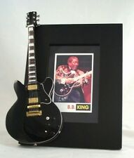 BB KING  Miniature Guitar Frame Lucille