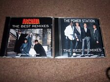 ARCADIA + THE POWER STATION (DURAN DURAN) - THE BEST REMIXES - 2 CDs