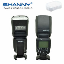 Shanny SN600C HSS On-camera ETTL/M/Multi GN60 Flash Speedlite for Canon DSLR