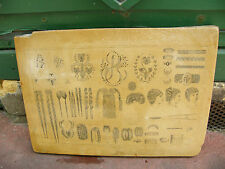 Pierre Lithographique Lithographic Stone Cheveux Coiffures BEHA Metz