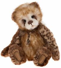 New **COLLECTABLE HANDMADE FULLY JOINTED CHARLIE BEAR ~ TEGAN** 36cm