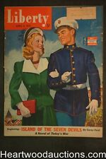 Liberty Apr 11, 1942 Joan Fontaine, Edwin Georgi Golf, World War II, Gliders for