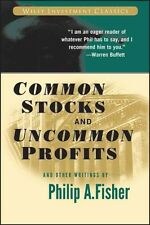 Common Stocks and Uncommon Profits and Other Writings by Philip A. Fisher Paperb