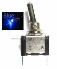 Blue LED Lighted Toggle Switch Rocker 12V 20A ON OFF Car Truck ATV Airplane fu