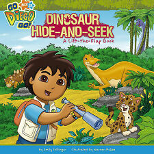 "Dinosaur Hide and Seek (""Go Diego Go!""), Nickelodeon, New Book"