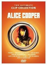 ALICE COOPER The Ultimate Clip Collection DVD BRAND NEW PAL Region 0