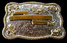 Boucle De Ceinture Rodeo Western Engraveable Big Belt Buckle