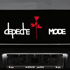 Depeche Mode Schriftzug Exciter Rose Auto Tattoo Deko Folie Wandtattoo Aufkleber