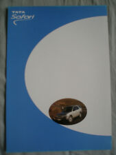 Tata Safari brochure c2002 French & Italian text