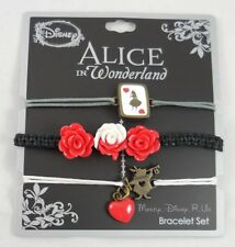 New Alice In Wonderland Painting The Roses 3 Pack Arm Party Cord Bracelet Set