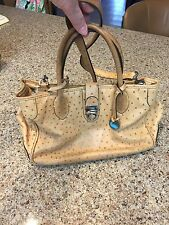 Dooney And Bourke Ostrich Handbag