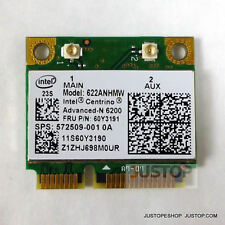 Intel 6200 Mini Card 60Y3191 300Mbp Lenovo Thinkpad T400 T400S T410 T410S T410Si