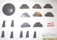 LEGO SET10143 Star Wars Death Star II Large Dark Blue Grey 8x8 Radar Dish Plate