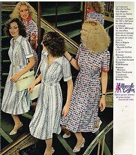 Publicité Advertising 1978 Pret a porter Femme les robes Marcelle Griffon