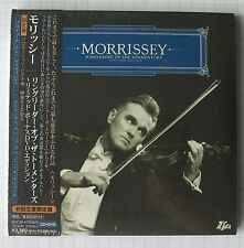 MORRISSEY - Ringleader Of The + DVD JAPAN MINI LP CD NEU! BVCM-47048/9 SEALED