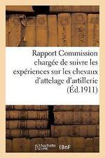 Sciences Sociales: Rapport de la Commission Chargee de Suivre les Experiences...