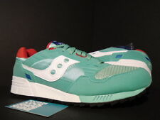 2014 SAUCONY SHADOW 5000 CAVITY PACK MINT GREEN WHITE RED BLUE S70033-65 DS 10.5