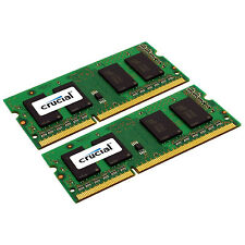 Crucial Mac 16GB Kit 8GB x2 DDR3L 1333 PC3-10600 SODIMM Memory Ram CT2K8G3S1339M