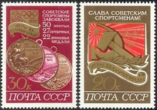 Russia 1972 Olympic Games/Olympics/Sports/Medals 2v set (n43985)