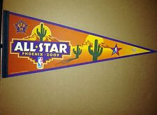 2009 NBA All Star Game Basketball Phoenix Suns Pennant