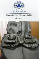 Sitzbezüge für die Vordersitze Mercedes SL R/W107, SLC dunkelgrün