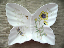 NIB Lenox Butterfly Meadow Dish Dragonfly Trinket Appetizer Soap Gift
