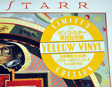 "Ringo STARR Time After Tim +1 JAPAN 12"" YELLOW 180 Gram VINYL Record NEW BEATLES"
