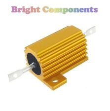 10W Aluminium Clad Power Resistor - 4.7 Ohms (4R7 / 4.7R) - 1st CLASS POST