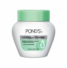 3 Pack POND'S Cold Cream Deep Cleanser Face Moisturizer & Make Up Remover 9.5 Oz