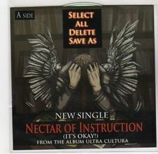 (GF387) Select All Delete Save As, Nectar Of Instruction - DJ CD