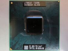 CPU Intel Dual Core DUO Mobile T3200 2.00/1M/667 SLAVG processore socket 478 479