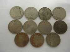 1898, 1901, 02, 05, - 12   LIBERTY  NICKEL COINS (GREAT)