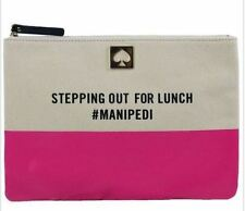 NWT $78 Kate Spade Call to Action Georgie Stepping Out For Lunch  #MANIPEDI Bag