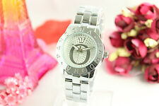Fashion PANDORAS Women's Alloy Steel belt Quartz Watch Silver # 06
