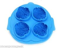 New Silicon Cool Brain Shaped Ice Cube Mold Novelty Mould Tray Jelly Maker Party