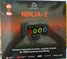 Atomos Ninja 2 camera-mounted recorder for HDMI cameras and DSLRs