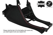 RED STITCH CONSOLE SIDE TRIM LEATHER COVERS FITS SKYLINE R32 GTS GTR 89-94