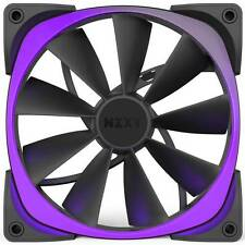 NZXT Aer RGB140 Single Pack RF-AR140-B1 140mm Digitally Controlled RGB LED Fans