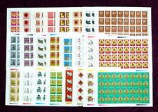 China 1992-1 - 2003-1 Full S/S x 12 China New Year stamps Zodiac